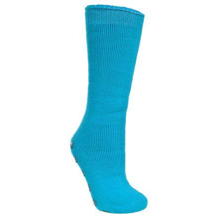 Paw Print Kids' Tube Socks in Blue