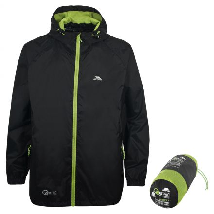 Qikpac Adults' Unisex Waterproof Packaway Jacket