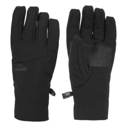 Royce Adults' Softshell Gloves in Black