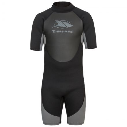 Scuba Men's Black Short Wetsuit