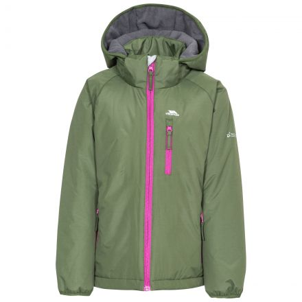 Shasta Girls' Padded Waterproof Rain Jacket
