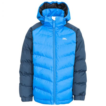 Sidespin Boys' Windproof Insulated Padded Jacket
