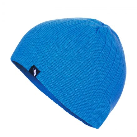 Stagger Beanie Hat in Blue