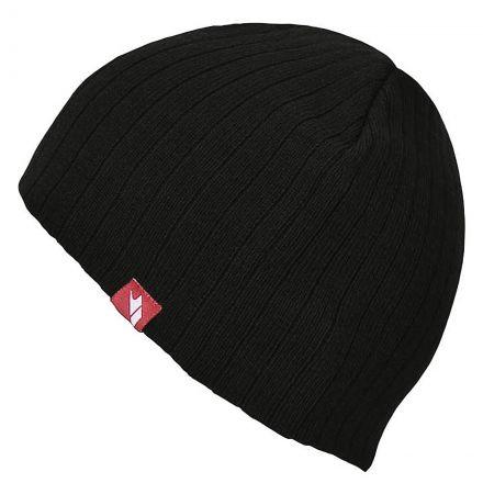 Stagger Beanie Hat in Black