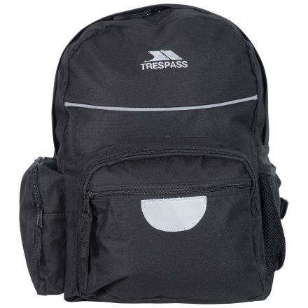 Swagger Kids' Black School Bag, Front view