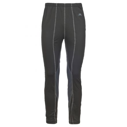 Tactic Mens Black Base Layer Pants
