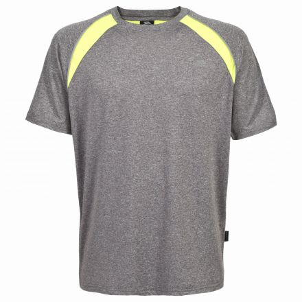 Telford Mens Quick Dry Active T-Shirt in Grey