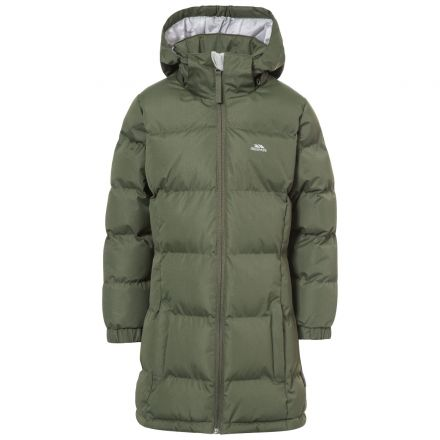 Tiffy Girls' Padded Casual Insulated Jacket