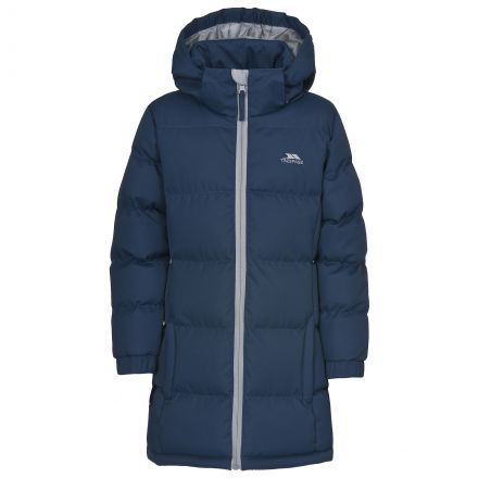 Tiffy Girls' Padded Casual Jacket in Navy