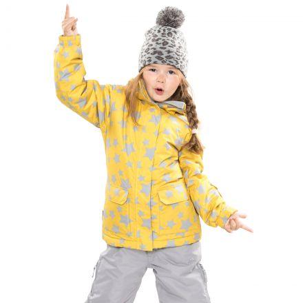 Tillie Girls' Waterproof Jacket in Yellow