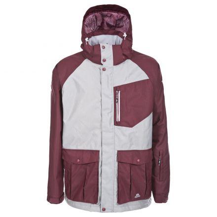 Torr Men's Waterproof Ski Jacket in Light Grey