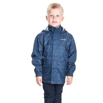 Totam Kids' Packaway Waterproof Hooded Jacket