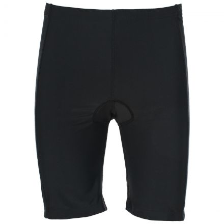 Trespass Adults Padded Cycling Shorts in Black Decypher