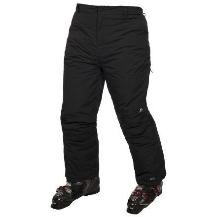 Contamines Adults Black Ski Pants in Black