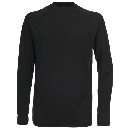 Flex360 Kids' Thermal Top in Black