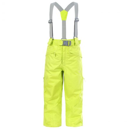 Marvelous Kids' Insulated Salopettes in Green