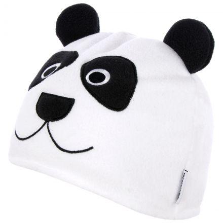 Bamboo Kids' Novelty Beanie Hat  in White