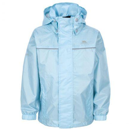 Neely Kids' Waterproof Jacket in Light Blue