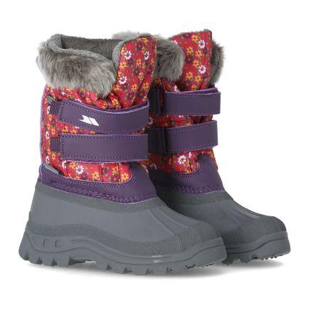 Vause Kids' Printed Snow Boots in Print, Pair of footwear