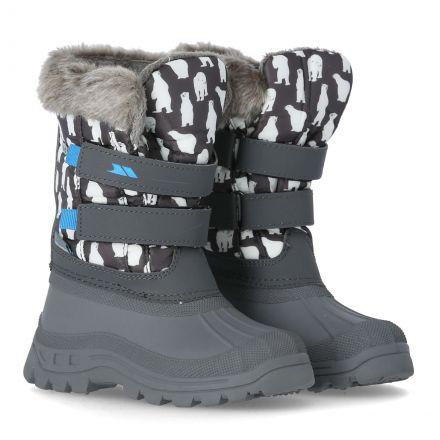 Vause Kids' Printed Snow Boots in Assorted, Pair of footwear