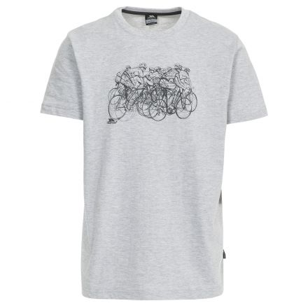 Wicky Men's Casual Printed T-Shirt