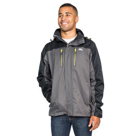 Wooster Men's Waterproof Jacket in Grey