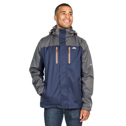 Wooster Men's Waterproof Jacket in Navy
