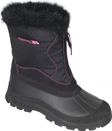 Zesty Women's Zip Up Snow Boots