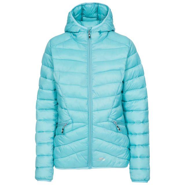 Trespass Womens Padded Jacket Alyssa in Aquamarine