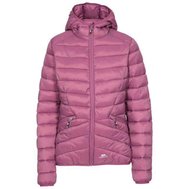 Trespass Womens Padded Jacket Alyssa in Mauve