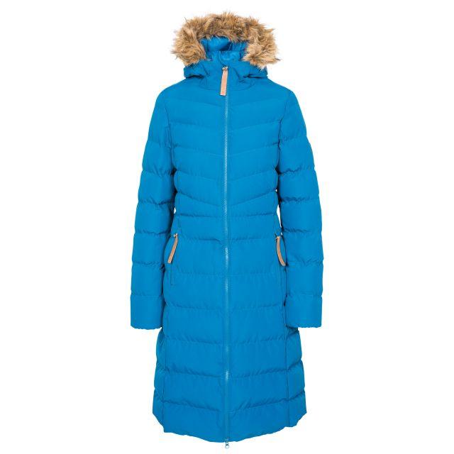 Trespass Womens Padded Jacket Casual Audrey Cosmic Blue