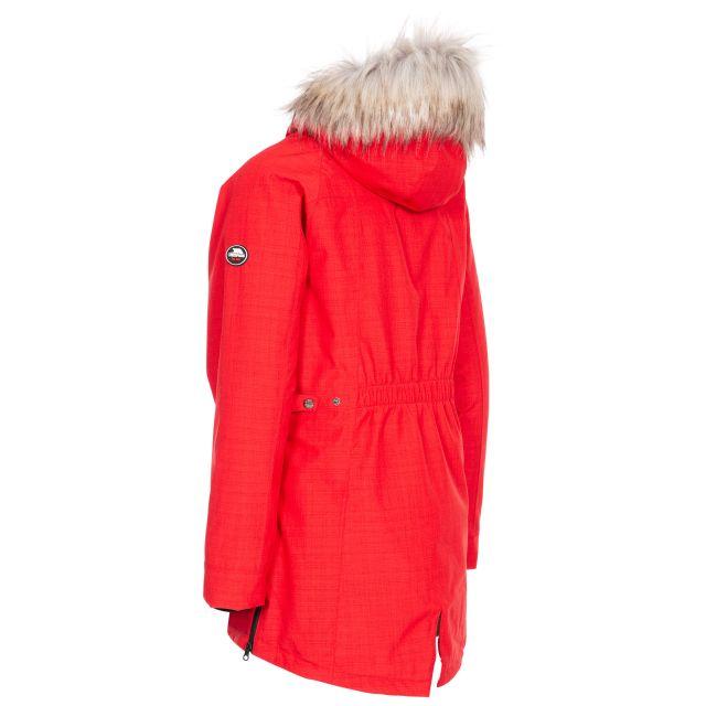 Caption Women's Waterproof Parka Jacket in Red