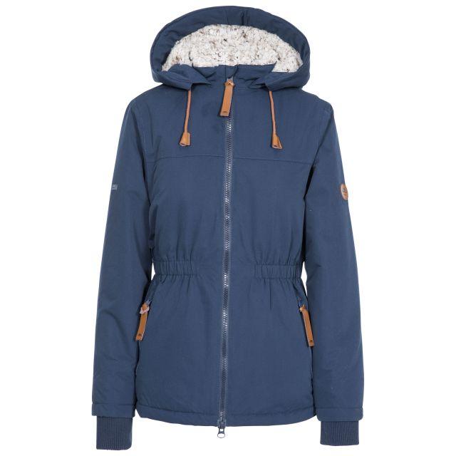 Cassini Women's Fleece Lined Padded Jacket in Navy