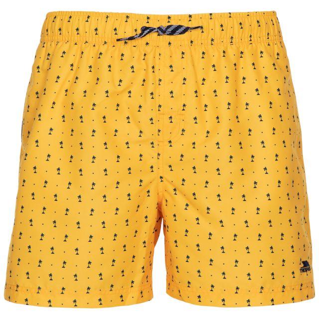 Trespass Men's Swimshorts Eugine Yellow Print
