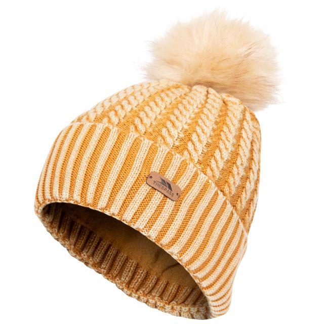 Faded Women's Knitted Hat in Sandstone