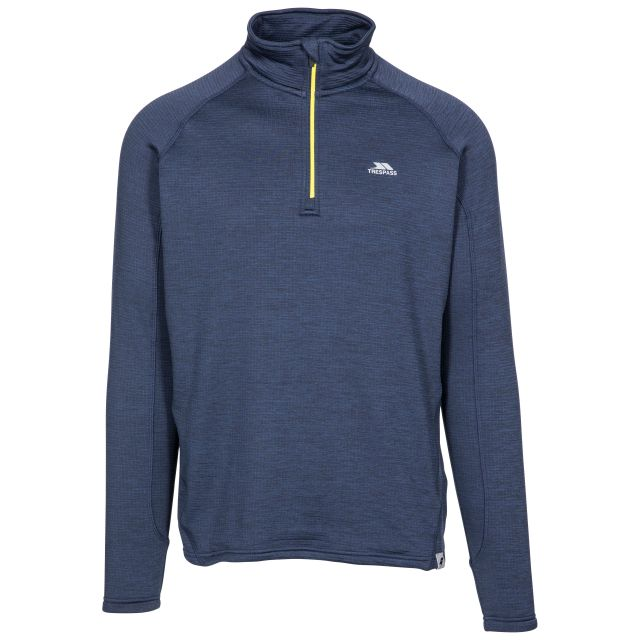 Goodwin Men's Quick Dry Long Sleeve Active Top in Navy