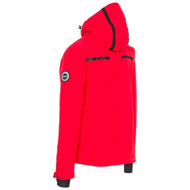 Jared Men's DLX Slim Fit Ski Jacket with RECCO - RED