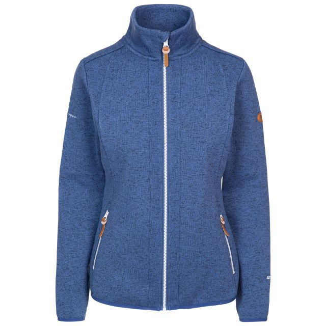 Trespass Women's Long Sleeve Zip Fleece Keepsake Navy