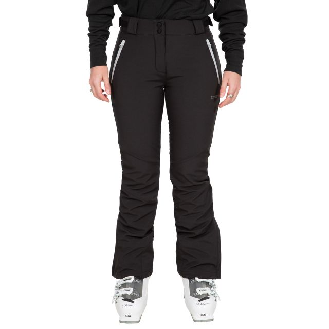 Lois Women's Slim Fit Salopettes with Microfleece Lining - BLK