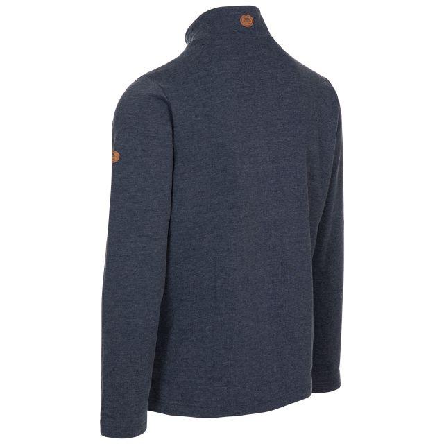 Trespass Men's 1/2 Zip Sweatshirt Loopington in Navy