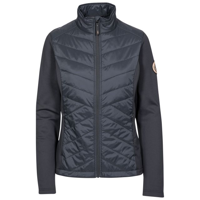 Magda Women's DLX Active Jacket with Padded Body in Black