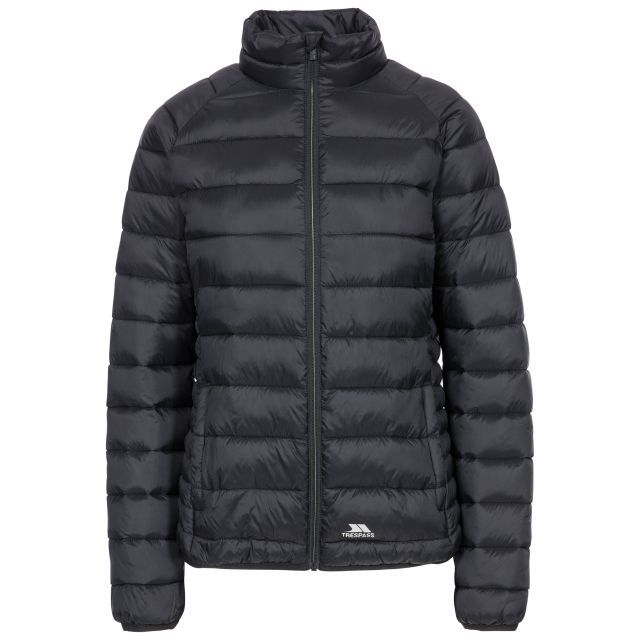 Marlene Women's Casual Padded Jacket in Black