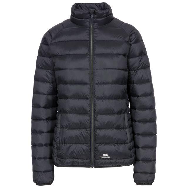 Trespass Womens Casual Jacket Padded Marlene in Black