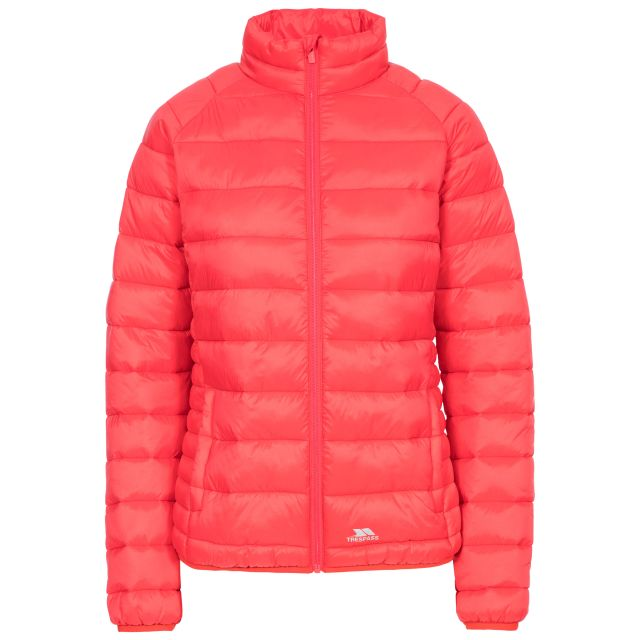 Trespass Womens Casual Jacket Padded Marlene in Hibiscus