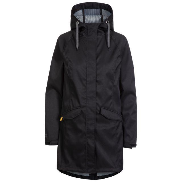 Matilda Women's Water Resistant Softshell Jacket in Black