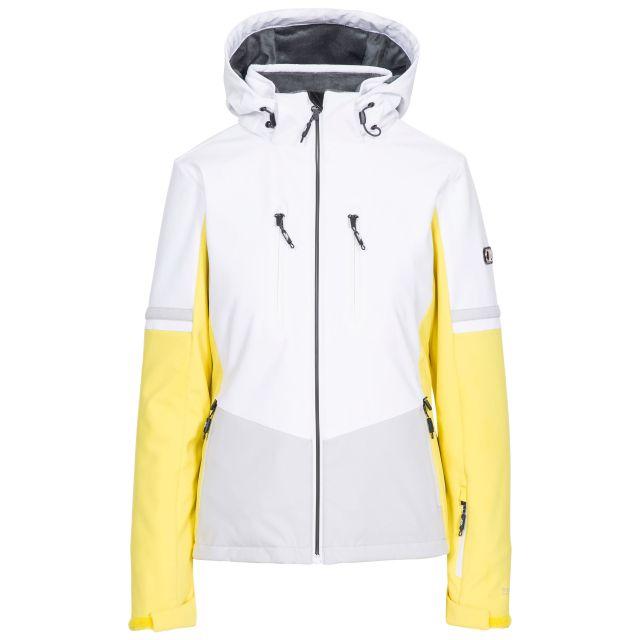 Mila Women's Slim Fit Ski Jacket in Yellow