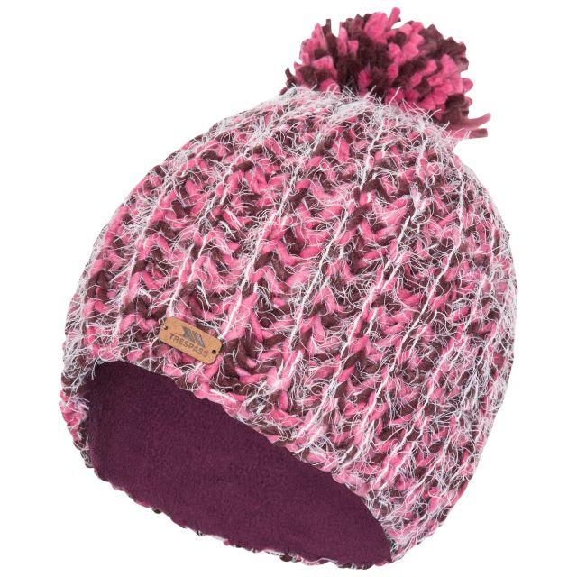 Mullida Women's Knitted Beanie in Fig