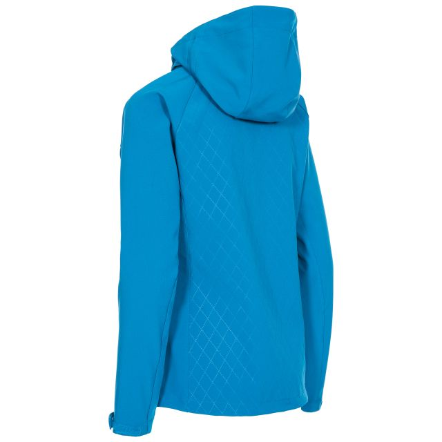Trespass Womens Softshell Jacket Nelly in Blue
