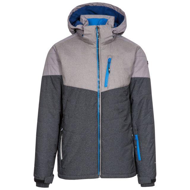 Pierre Men's Waterproof Ski Jacket in Black