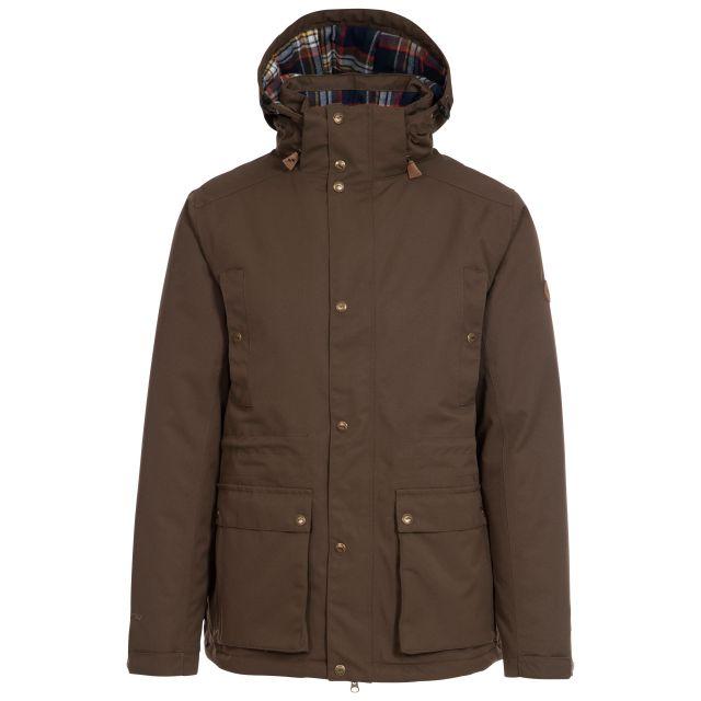 Puxtoncombe Mens Waterproof Padded Jacket  - KHT